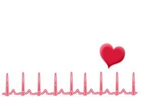 心臓のモニター