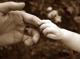 th_親子の手
